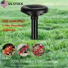 2x Garden Solar Powered Ultra sonic Mouse Snake Dog Mole Cat Pest Repeller Yard