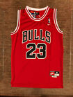NWT Michael Jordan #23 Chicago Bulls Men's / Youth Throwback Red Stitched Jersey on eBay