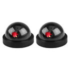 Set of 2,4 Fake Dummy Dome Surveillance Security Camera with LED Sensor Light