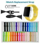 For Apple Watch Series 3/2/1 Silicone Smart Watch Band Strap 38mm&42mm