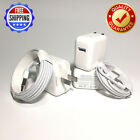 12W USB Power Adapter Wall Charger for OEM Apple iPad 4 Air Pro +Lightning Cable