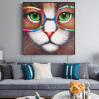 Wall Art Canvas Animal Graffiti Pop Watercolor Print Painting Cat Monkey Cow Dog
