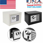 New Quality Digital Electronic Safe Box Keypad Lock Home Office Hotel Gun Black