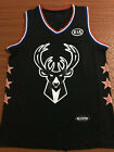 All Star Milwaukee Bucks 34 Giannis Antetokounmpo Black Basketball Jersey