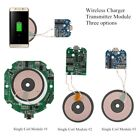 QI Wireless Fast Charging Charger Module Transmitter Base PCBA Board +1 Coil DIY