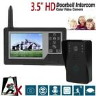 3.5in LCD Screen  Wireless Intercom Doorbell 0.3MP HD Video Camera IR Night View