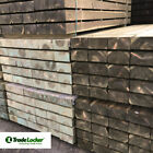 NEW GREEN TREATED SOFTWOOD SLEEPERS 200X100 - FREE UK MAINLAND DELIVERY