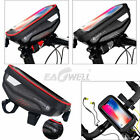 Waterproof Bike Bicycle Handlebar Front Bag Mobile Phone Case Pouch Touch Screen