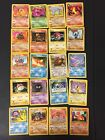 LOT OF 20 Rare And Uncommon POKEMON CARDS Gen 1 TCG NM Collectors Collection