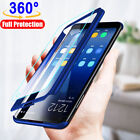 For Samsung Galaxy S7 S8 S9 S10 Plus 360° Full Cover Phone Ultra Slim Matte Case
