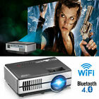 Portable Video 1500LM Mini WIFI LED Projector BT Home Theater Party HDMI USB PS4