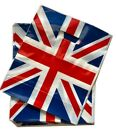 Union Jack/ Patriotic Design Plastic Patch Handle Carrier Bag/ Bags Small Medium