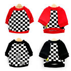 Grid Dog Pet Clothes Dog Coat Apparel Sweater Cat Dachshund Puppy Bulldog Outfit for sale  China