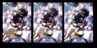 1995 NFL Experience MARIO BATES New Orleans Sanits Gold Super Bowl XXX Card