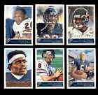2001 Gallery Chicago Bears Set BRIAN URLACHER CADE MCNOWN WALTER PATYON