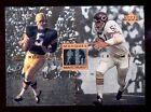1997 Legends PAUL HORNUNG DICK BUTKUS Packers Chicago Bear Marquee Matchups Card