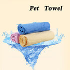 New Dog Towel Absorbent Pet Puppy Cleaning Drying Blanket Bath