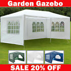 Waterproof 3m x 3m 4m 6m PE Gazebo Marquee Awning Party Tent Canopy Steel Frame