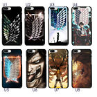Attack On Titan Wings of Freedom Soft TPU Case Cover For iphone XS 7 6S Plus S9