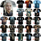 Game of Thrones Print Women/Men Funny 3D T-Shirt Casual Tee Top Short Sleeve