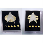Star Trek Next Generation Combadge Communicator Metal Pins & Rank Brooch Badge on eBay