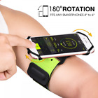 VUP Running Armband, Sportand 180° Rotatable for iPhone X/ 8 Plus/ 8/7 6S 6, Gal