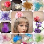 Hair Fascinators on Comb Clip or Headband Wedding Prom Christmas Party Races