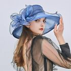 Women's Church Derby Dress Fascinator Bridal Cap British Tea Party Wedding Hat