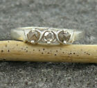 Genuine Diamond Sterling Silver Women Gift Hug and Kisses XOXO Ring US 4 to 15