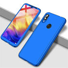 For Huawei Y5 Y6 Y7 Y9 Prime 2019 360° Full Protect Case Cover + Tempered Glass