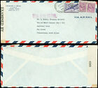 1942 WWII Censored, US - SOUTH ARICA, #C27, 2 #831 PREXIES, $1.10, WRONG RATE!