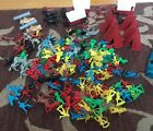 Lot of Plastic Cowboys Indians Wagon Carriage *As-Is* Made in China 150+ Pieces