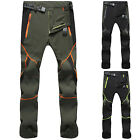 Mens Hiking Pants Waterproof Quick Dry Cargo Outdoor Climbing Tactical Trousers