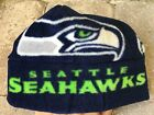 Seattle Seahawks Fleece Hat Blue Green Size Newborn Infants, Children  Adults