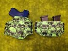 LOOK! SUPER NICE HOLSTER COMBO GRAVEYARD SLIME KYDEX HOLSTER HAND FITTED