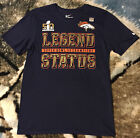 NEW! MEN'S NFL DENVER BRONCOS SUPER BOWL 50 CHAMPIONS LEGEND STATUS NIKE T-SHIRT on eBay