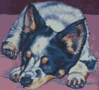 Cross Stitch Kit Australian Cattle Dog 2