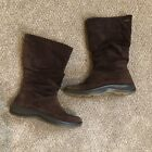 Hotter Boots Womens US 7.5 UK 4 Eu 37 Brown Suede Goretec Made in England