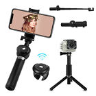 Extendable Selfie Stick Tripod Mount With Bluetooth Remote For iPhone...
