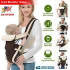 Kyпить Newborn Baby Carrier Sling Wrap Backpack Ergonomic 4 Position Front Back Chest на еВаy.соm