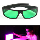 LED Grow Light Glasses Indoor Hydroponic Room Plant Visual Eye Protection UV BE