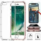 360° TPU Silicone Case Cover For iPhone XS Max XR X 8 7 6 Plus+ Screen Protector