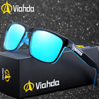 VIAHDA Men Sport Polarized Sunglasses Outdoor Driving Fishing Square Glasses New