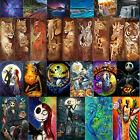 Full Drill 5D DIY Animal Diamond Painting Cross Stitch Kit Home Decor with Tools
