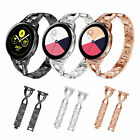 For Samsung Galaxy Watch Active 40mm Stainless Steel Link Bracelet Strap Band US