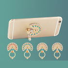 360 Degree peacock Finger Ring Mobile Phone Smartphone Stand Holder For Phone XS