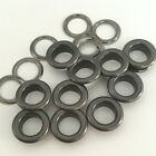 100 Solid Brass Eyelets Ring Grommet with Washers For Leather Craft