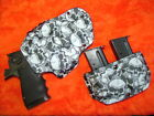 LOOK! SUPER NICE HOLSTER COMBO GRAVEYARD NIGHT KYDEX HOLSTER HAND FITTED