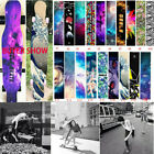 "Dancing Board Longboard Deck Sandpaper Skateboard Grip Tape Sticker 47""X10"" image"