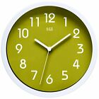 11 Color Available Silent Wall Clock 10 inch Non Ticking Decorative for Bedroom